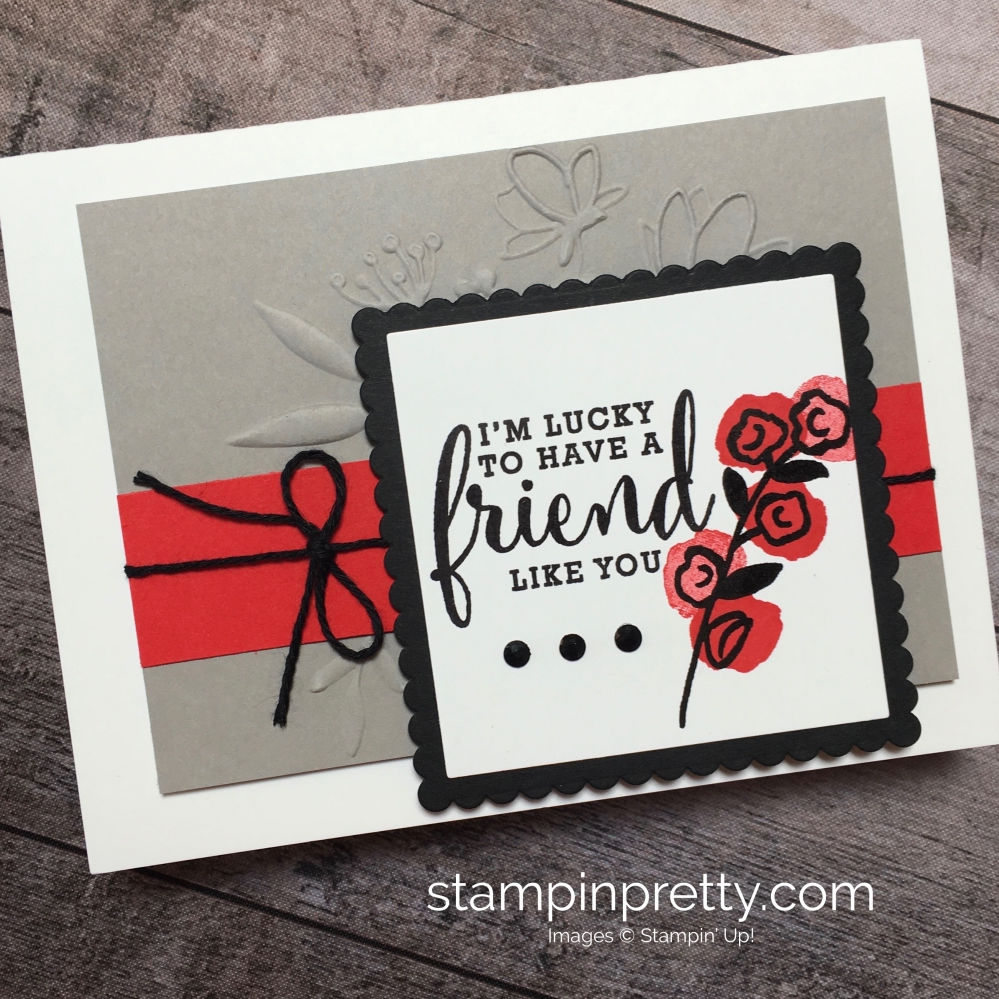 Create-a-simple-friend-card-using-Love-What-You-Do-stamp-set-Mary-Fish-StampinUp-Ideas