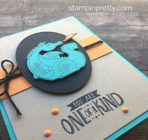 Dragon Birthday Card ideas using Stampin Up Magical Day - Mary Fish StampinUp