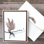 Stampin Up Lots of Lavender birthday cards idea - Mary Fish StampinUp