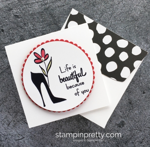 Stampin Up Mothers Flair Stamp Set & Mothers Day Cards Idea - Mary Fish StampinUp