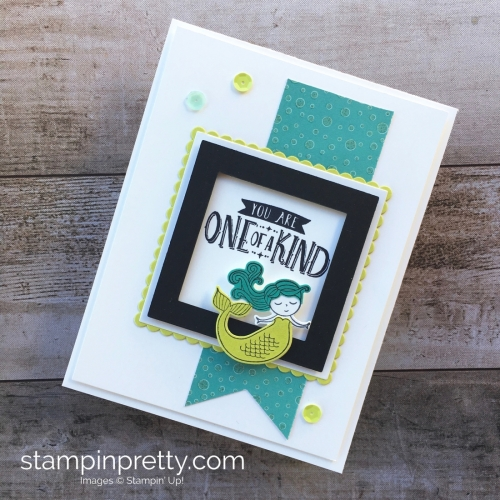 Congratulation Card Idea Using Stampin Up Magical Day - Mary Fish StampinUp