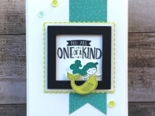 Congratulations Card Idea Using Stampin Up Magical Day - Mary Fish StampinUp