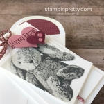 Simple Easter Card Idea Using Stampin Up Sweet Little Something Stamp Set - Mary Fish StampinUp
