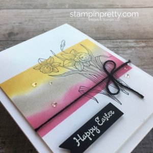 Simple Easter Card using Stampin Up Youre Inspired Stamp Set - Mary Fish StampinUp Ideas