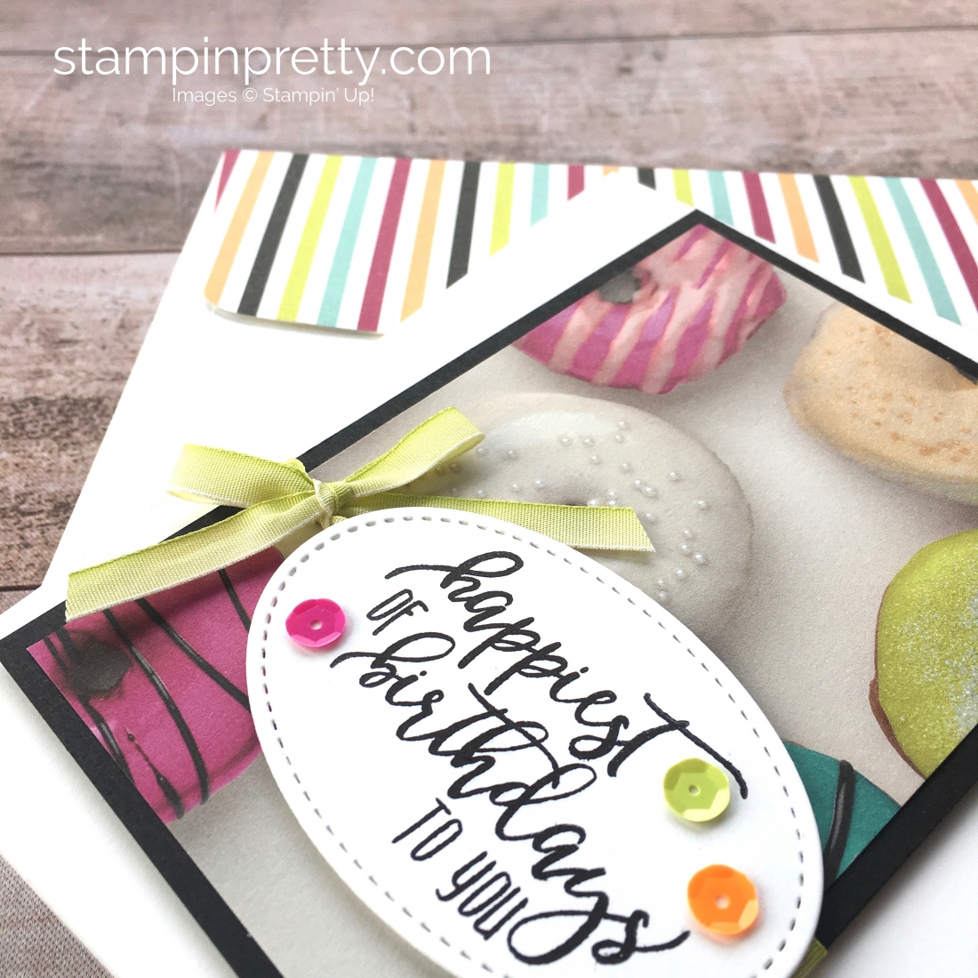 Stampin Up Picture Perfect Birthday Card Idea - Mary Fish StampinUp