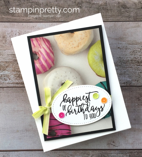Stampin Up Picture Perfect Birthday Cards Idea - Mary Fish StampinUp