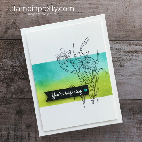 Youre Inspiring Stamp Set Spring Easter Stampin Up Card Ideas - Mary Fish StampinUp