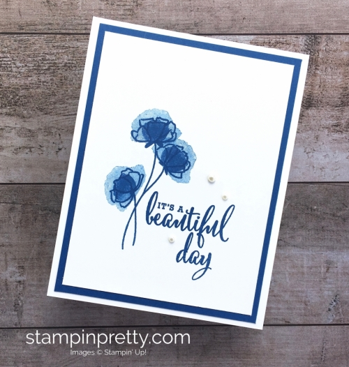 Love What You Do Stamp Set - Mary Fish Stampin Up Card Idea