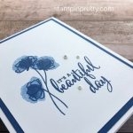 Love What You Do Stamp Set - Mary Fish Stampin Up Simple Card Idea