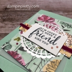 Create a friend card with Stampin Up Love What You Do stamp set - Mary Fish StampinUp