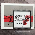 Simple & Pretty Love What You Do Friend Card