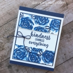 Abstract Impressions Stamp Set Gets the Blues