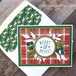 Under the Mistletoe Christmas in July Card