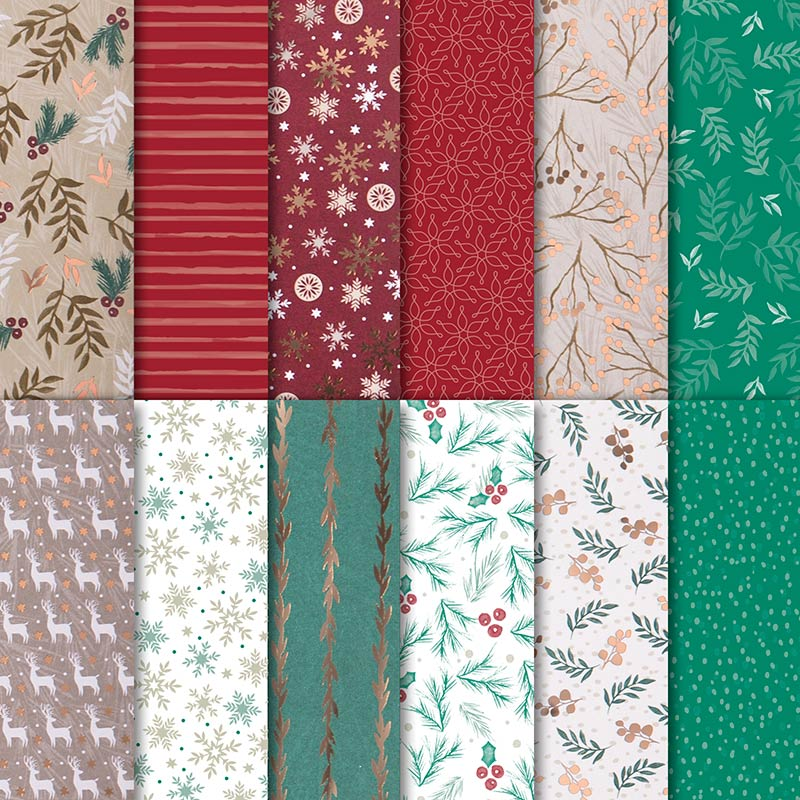Joyous Noel Designer Series Paper by Stampin' Up!