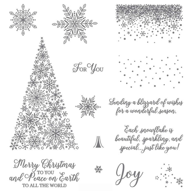 Snow Is Glistening Stamp Set - Images © Stampin' Up!