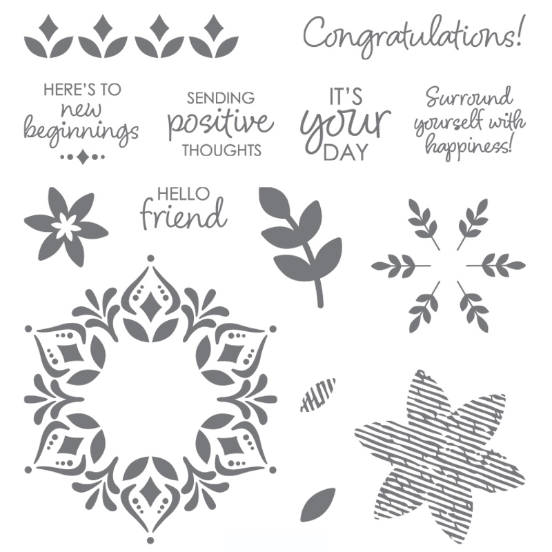 149744G Happiness Surrounds Stampin' Up!