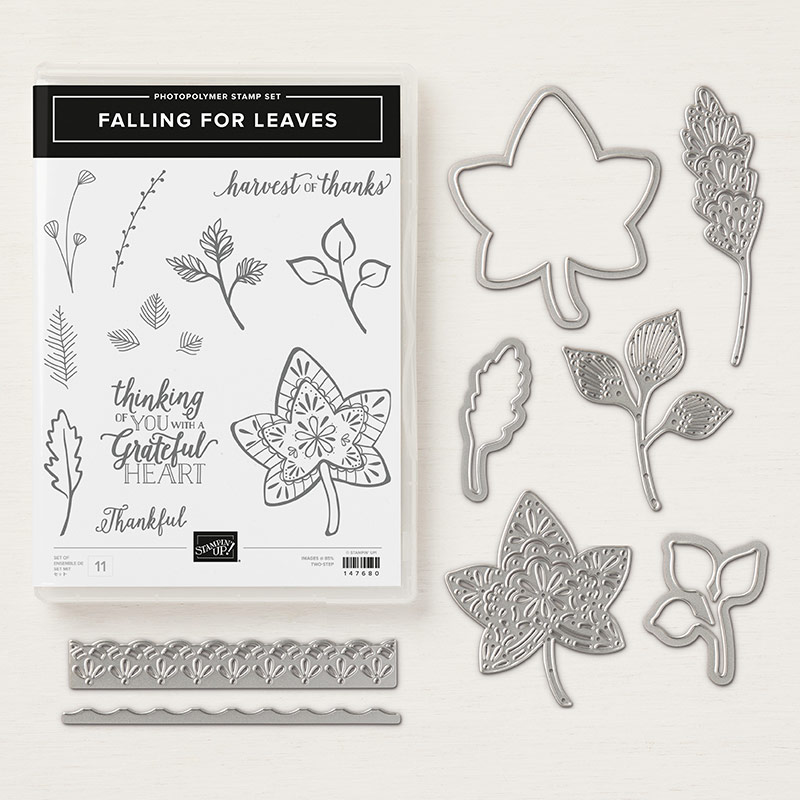 Falling For Leaves Photopolymer Bundle - Images © Stampin' Up!