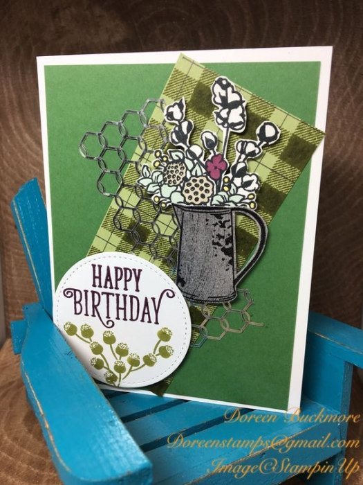 Pals Pick of the Week Doreen Buckmore. Mary Fish, Stampin' Pretty