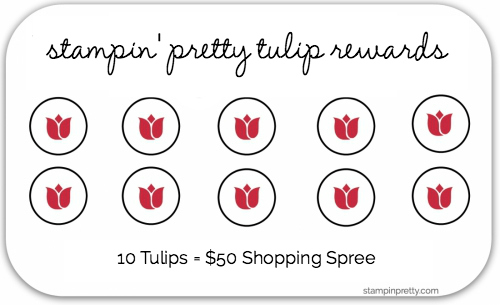 Tulip Punch Card