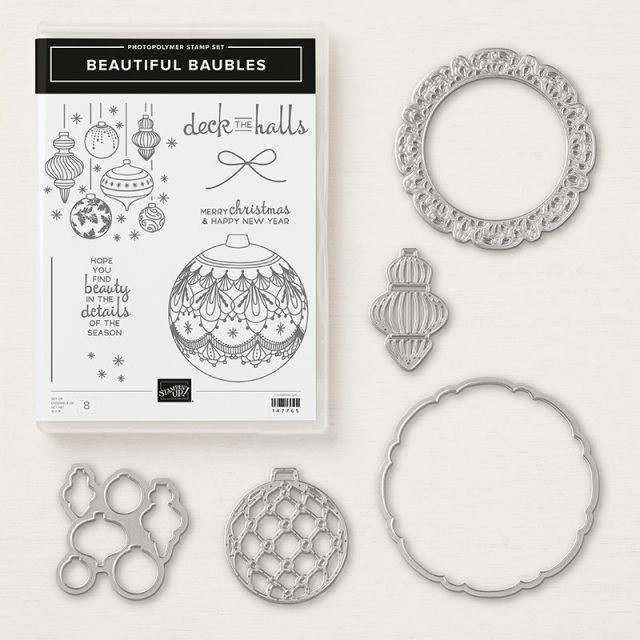Beautiful Baubles Bundle - Images © Stampin' Up!