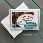 Time for Tea Simple Note Card