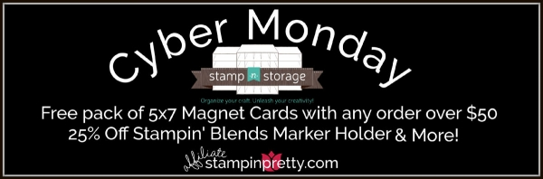 Cyber Monday Special Stamp N Storage