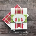 Simple Saturday:  Making Christmas Bright Card