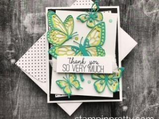 148536G Butterfly Beauty Thinlits Dies
