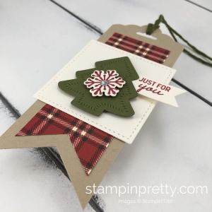 Learn how to create adorable holiday gift tags with the Nothing Sweeter Bundle By Stampin'Up! Mary Fish, Stampin' Pretty