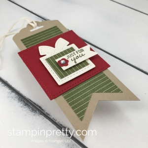Learn how to create cute gift tags with the Nothing Sweeter Bundle By Stampin'Up! Mary Fish, Stampin' Pretty