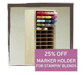 25% Off Marker Holder for Stampin' Blends