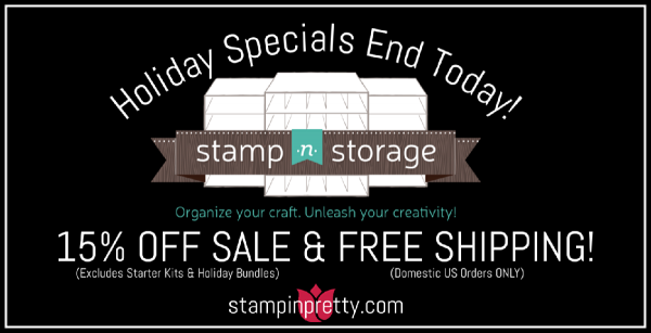Stamp-n-Storage Holiday Specials End Today