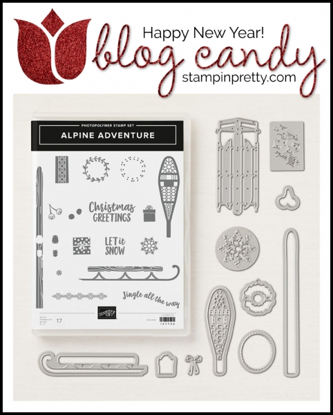 Blog Candy Giveaway Happy New Year 2019 Mary Fish, Stampin' Pretty!