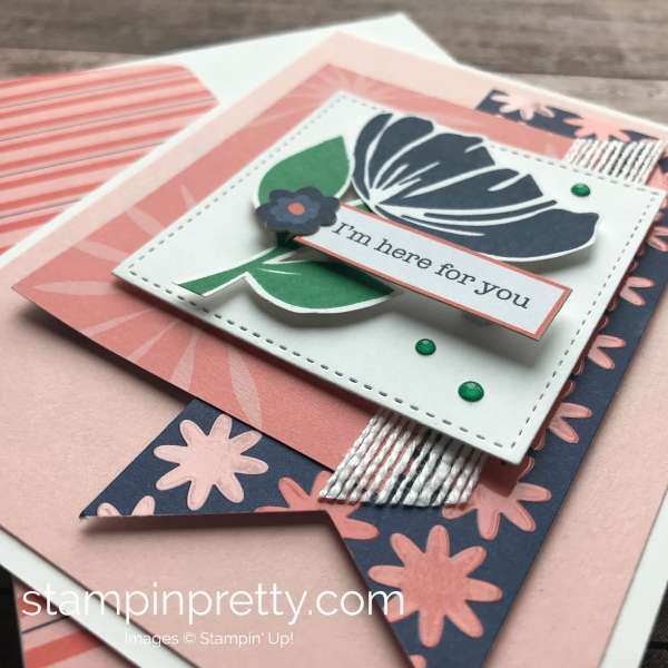 Learn how to create this sympathy card using the Bloom by Bloom Stamp Set by Stampin'Up! Mary Fish Stampin Pretty 2(1)