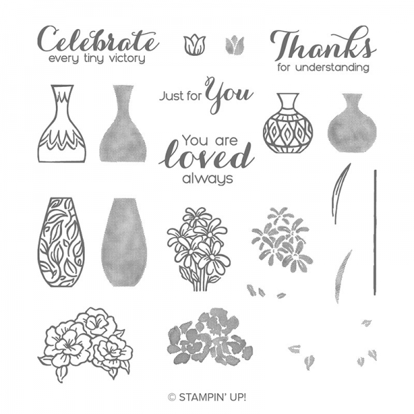 148656 Vibrant Vases Stampin Up