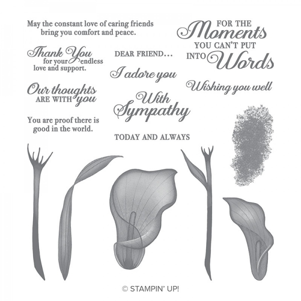 Lasting Lily Photopolymer Stamp Set