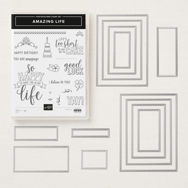 Amazing Life Bundle by Stampin' Up! 150624 Shop Online with Mary Fish, Stampin' Pretty