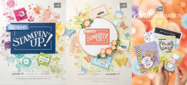 Stampin' Up! 2019 Current Catalogs