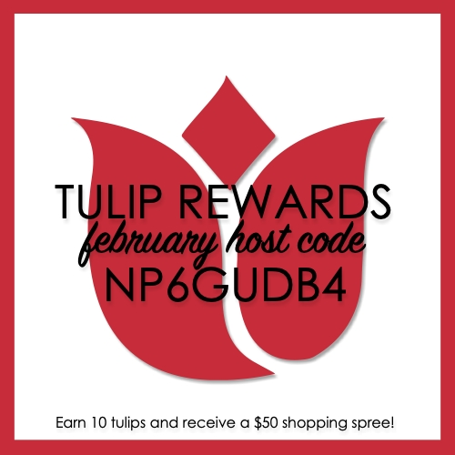 February Tulip Rewards Host Code