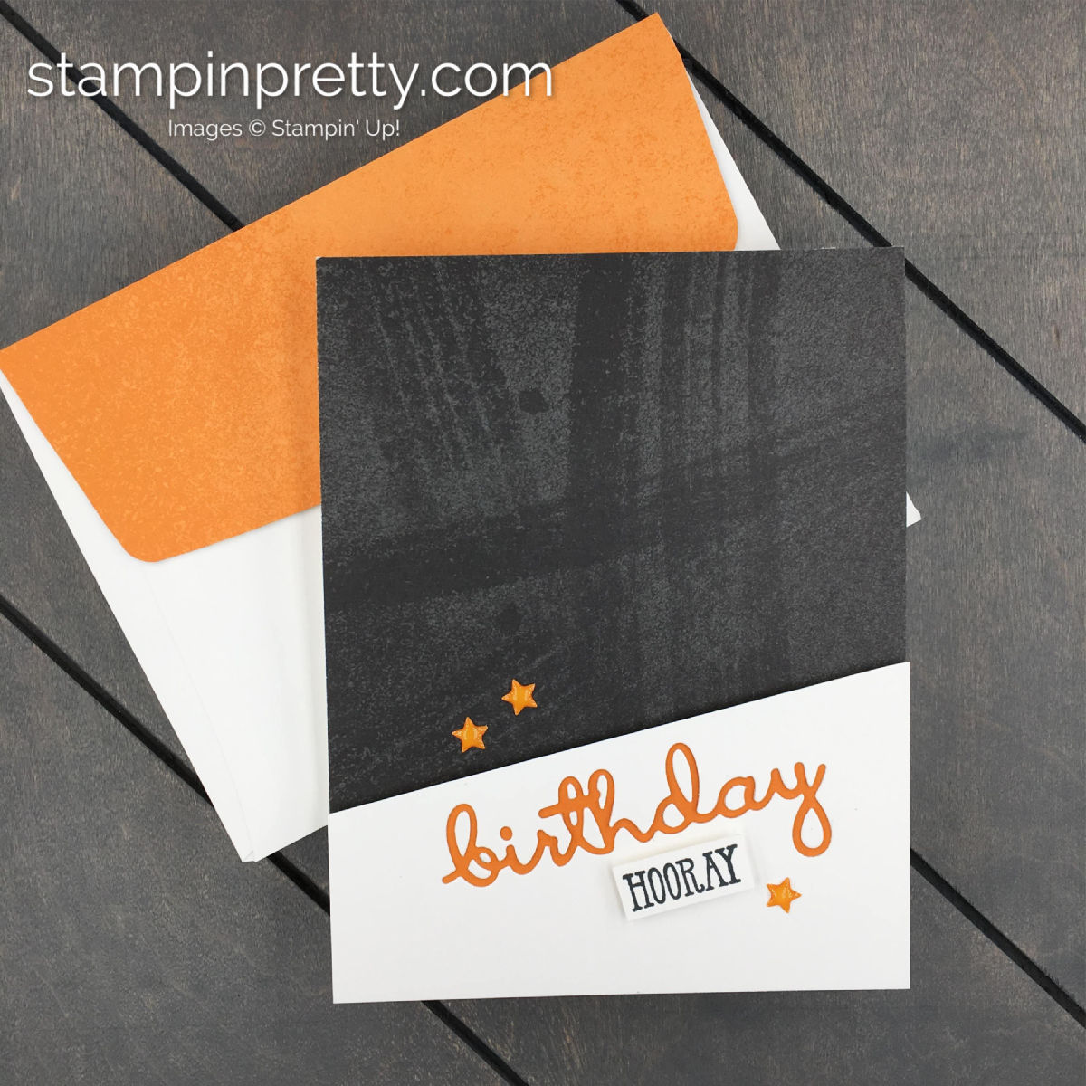 Learn How To Create This Simple Masculine Birthday Card Using The Well Said Bundle By Stampin