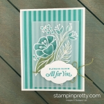 Learn how to create this All For You handmade card using the All That You Are Stamp Set by Stampin