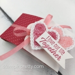 Learn how to create this Mini Ghirardelli Treat Holder using Stampin