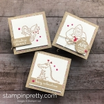 Learn how to create this trio of valentine