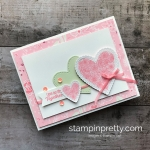 Learn how to create this love valentines card using the Meant to Be Bundle by Stampin