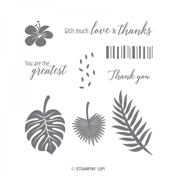 146753 Tropical Chic Stamp Set by Stampin' Up!