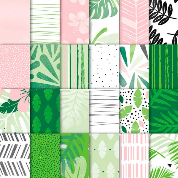 146916 Tropical Escape 6x6 Designer Series Paper Stampin' UP!