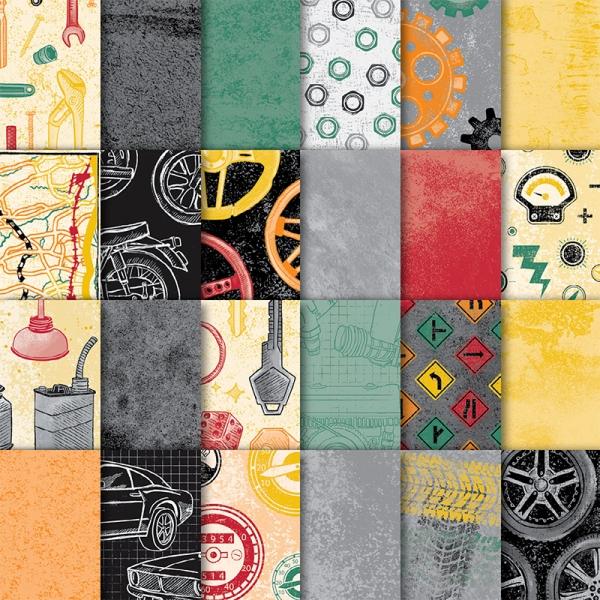Classic Garage 6x6 Designer Series Paper