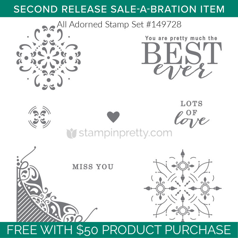 COMING SOON! Sale-A-Bration 2nd Release & More | Stampin' Pretty