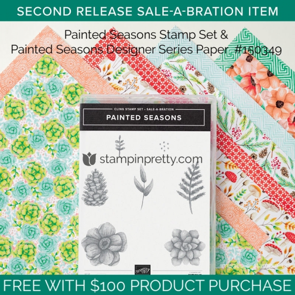 Painted Seasons Stamp Set & Painted Seasons Designer Series Paper #150349