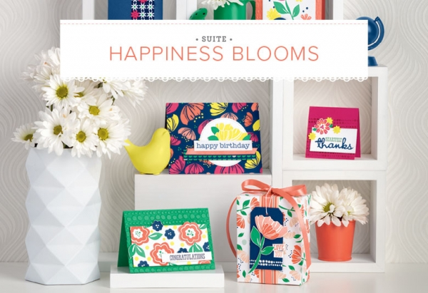 Happiness Blooms Suite of Products by Stampin' Up!